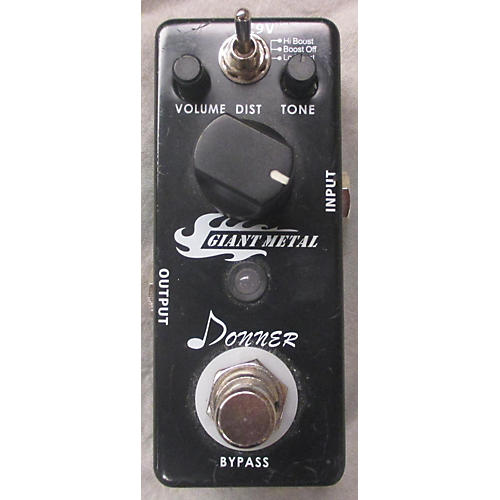 In Store Used GIANT METAL Effect Pedal