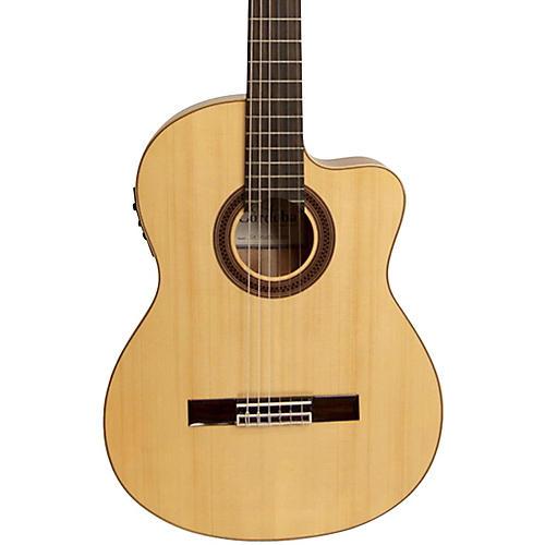 Cordoba GK Studio Negra Acoustic-Electric Nylon String Flamenco Guitar