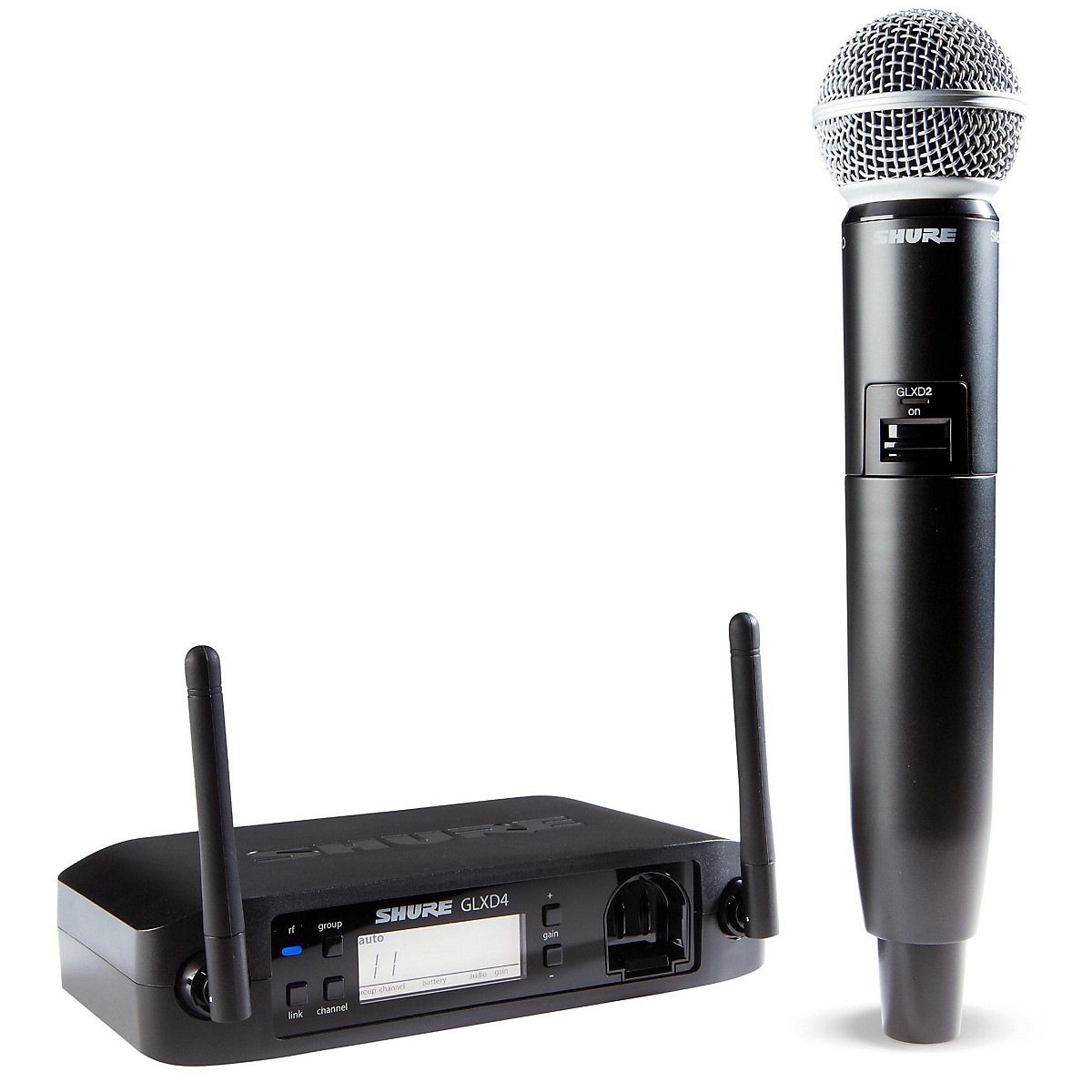 Shure GLX-D Wireless Vocal System with SM58 Mic