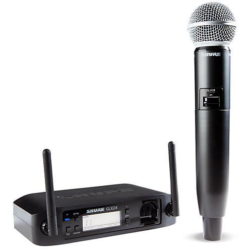 Shure Glx D Wireless Vocal System With Sm58 Mic Z2