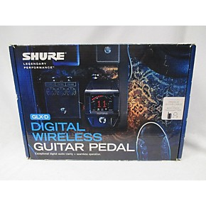 used shure glx d guitar pedal instrument wireless system guitar center. Black Bedroom Furniture Sets. Home Design Ideas