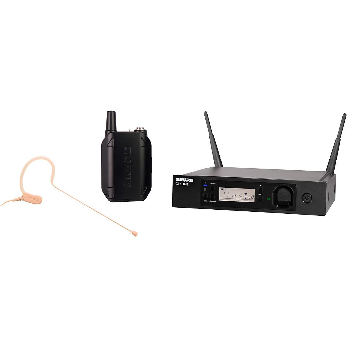Shure GLXD14R Advanced Wireless System with MX153 Headworn Microphone