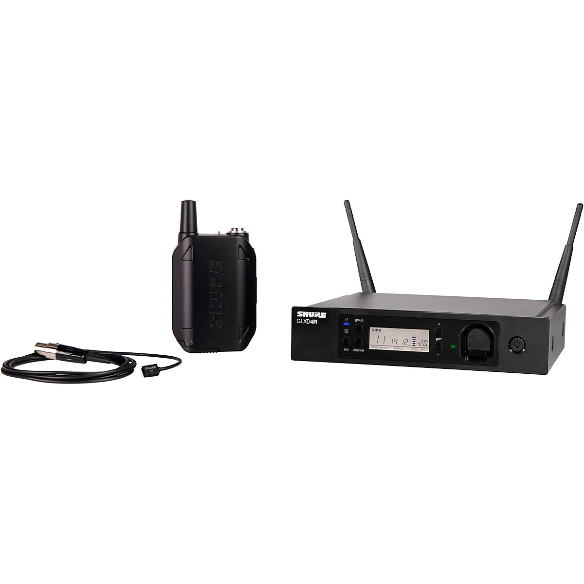 Shure GLXD14R Advanced Wireless System with WL93 Lavalier Microphone
