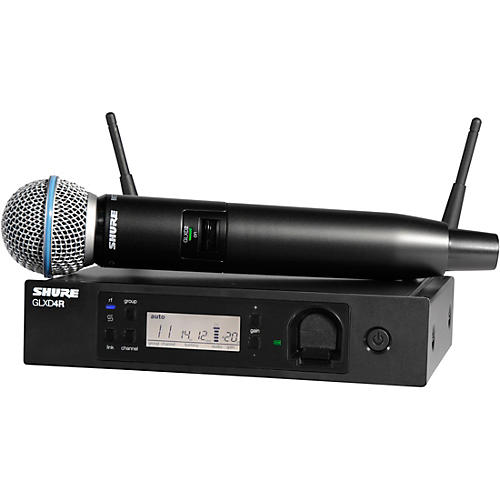 Shure GLXD24R/B58 Advanced Wireless System with BETA58 Microphone