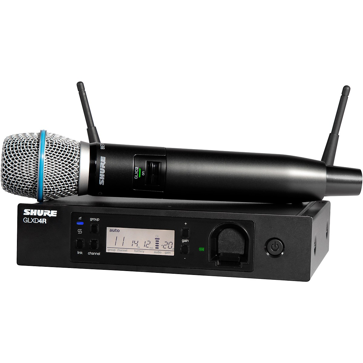 Shure GLXD24R/B87A Advanced Wireless System with BETA87A Microphone