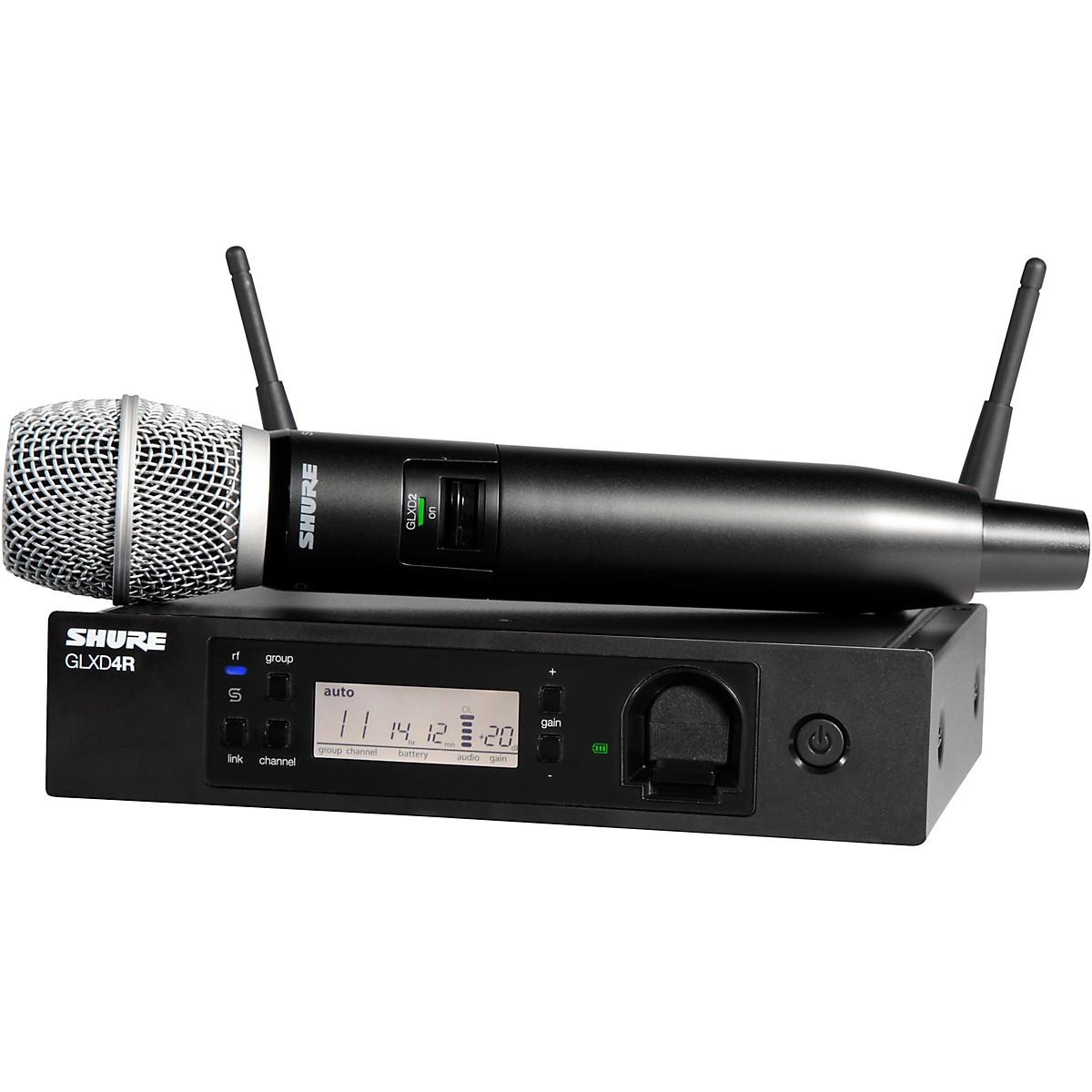 Shure GLXD24R/SM86 Advanced Wireless System with SM86 Microphone