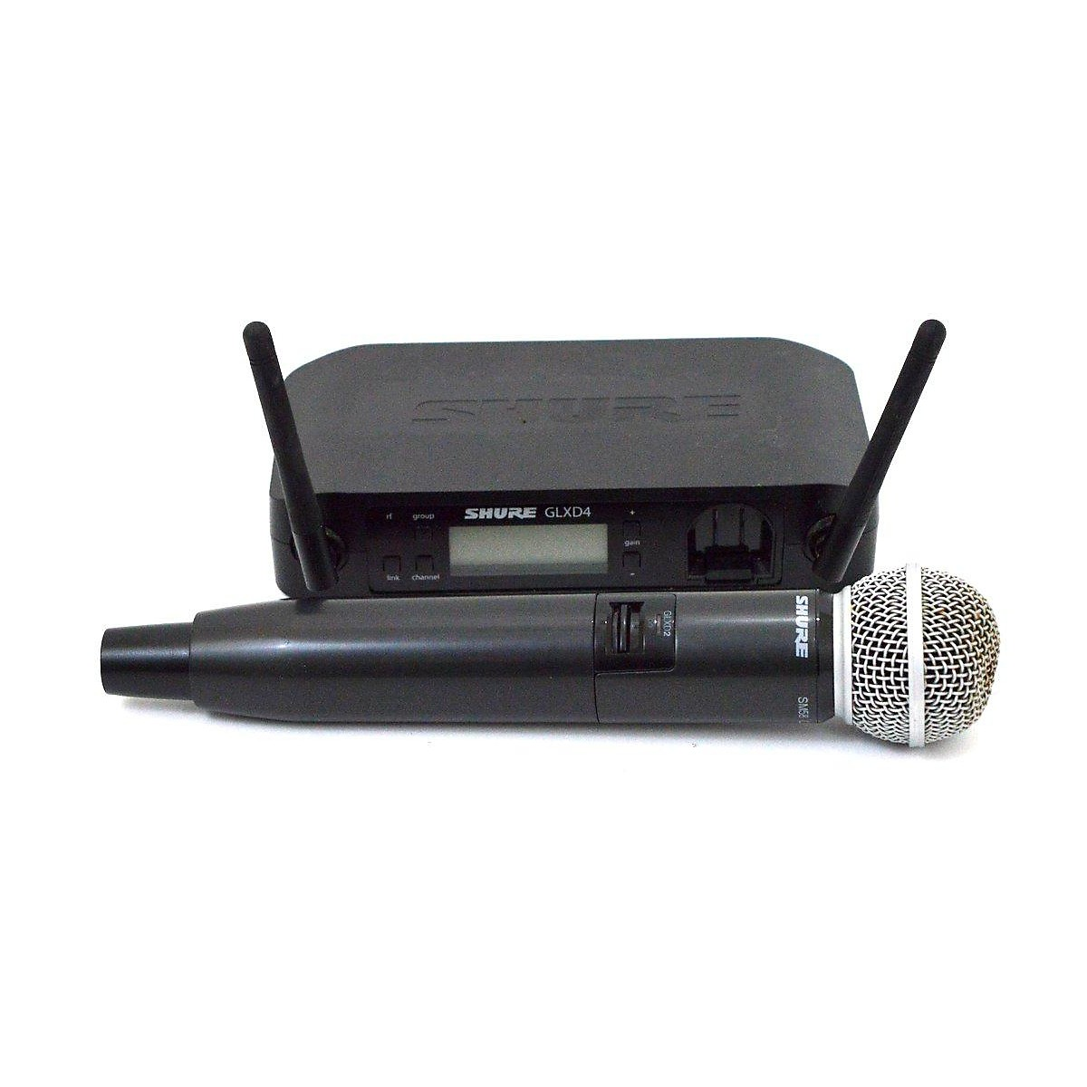 Shure GLXD4 Dynamic Wireless Microphone Handheld Wireless System