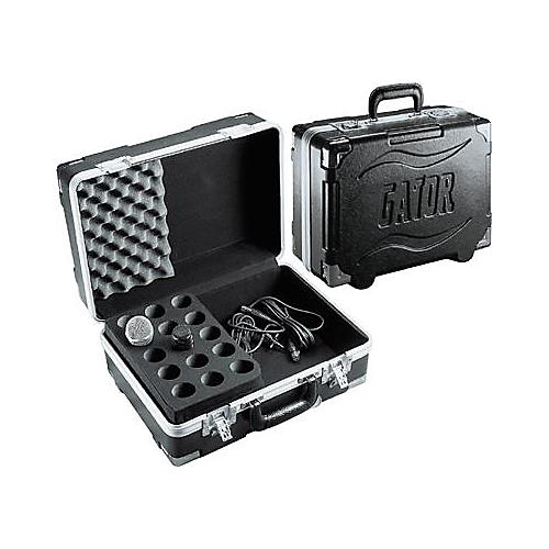 Gator GM-15 ATA Case for 15 Microphones