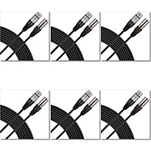 Gear One GM15 XLR to XLR Cable (6 Pack)