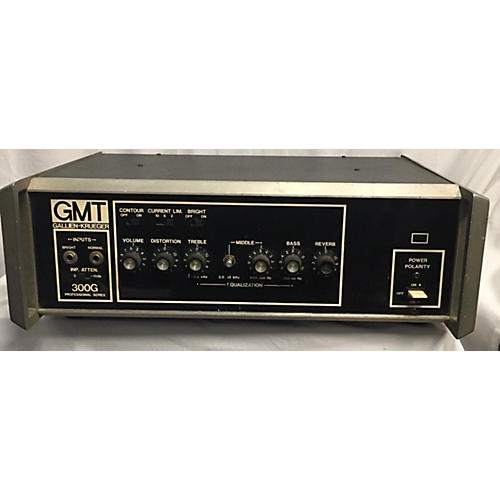 Gallien-Krueger GMT 300 Guitar Amplifier Solid State Guitar Amp Head