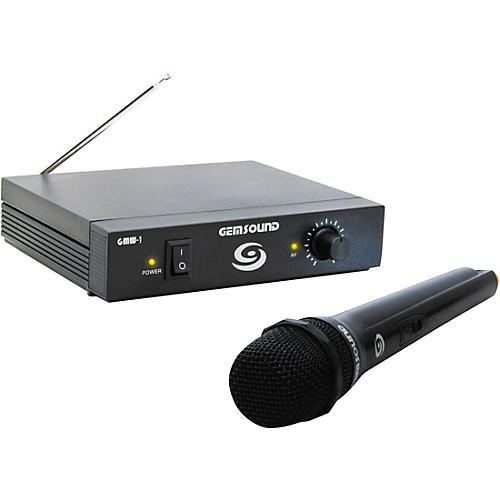 Gem Sound GMW-1 Single-Channel Wireless Mic System
