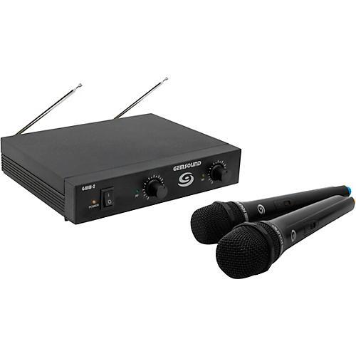 gem sound gmw 2 dual channel wireless mic system guitar center. Black Bedroom Furniture Sets. Home Design Ideas