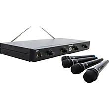 Gem Sound GMW-4 Quad-Channel Wireless Mic System Level 1 AB