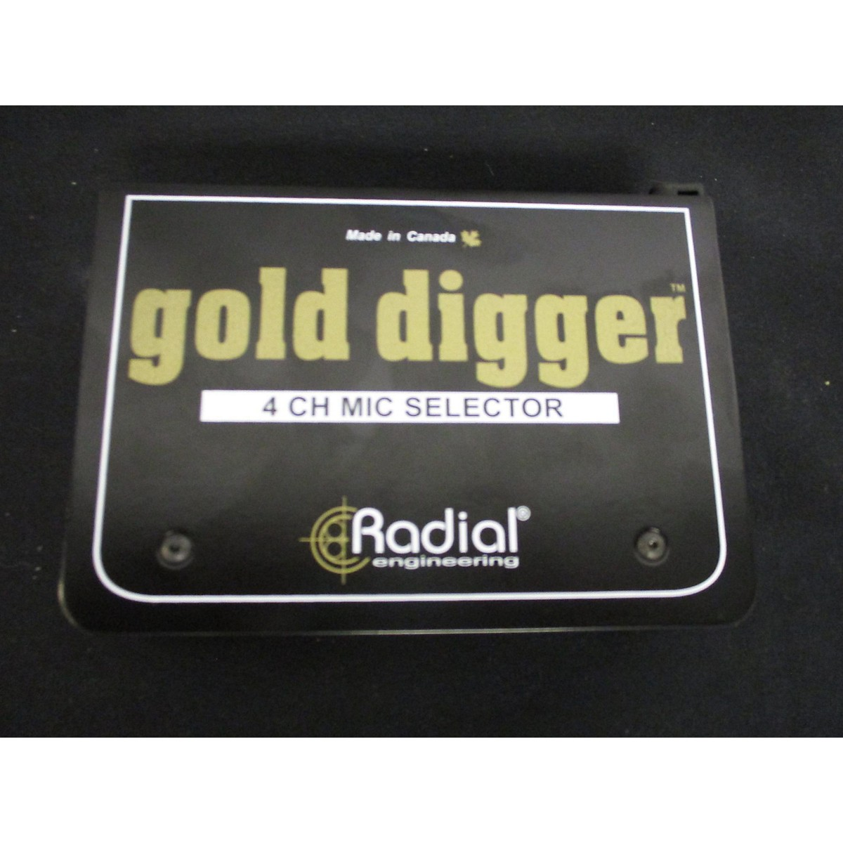 Radial Engineering GOLDDIGGER Signal Processor