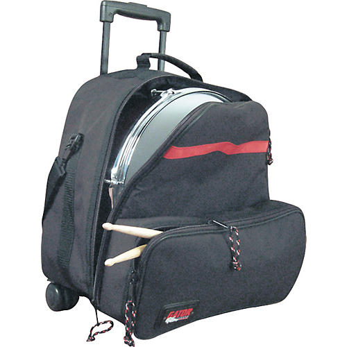 Gator GP-SNR-KIT-BAG Rolling Backpack Bag for Snare Drum