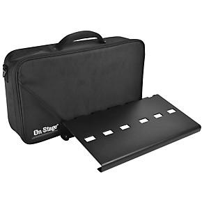 on stage gpb3000 pedal board with gig bag guitar center. Black Bedroom Furniture Sets. Home Design Ideas