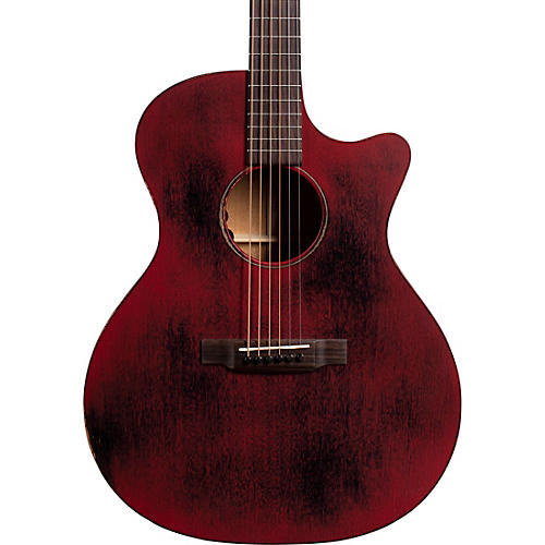 Martin GPC-15ME Special Red StreetMaster Grand Performance Acoustic-Electric Guitar