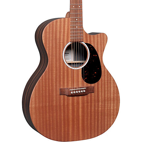 Martin GPC-X2E Macassar Ebony Grand Performance Acoustic-Electric Guitar