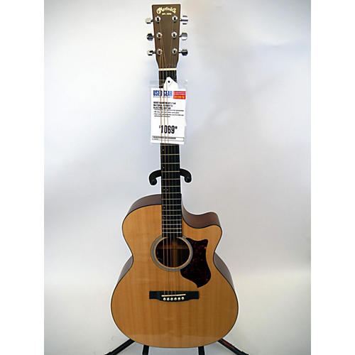 used martin gpcpa4 acoustic electric guitar natural guitar center. Black Bedroom Furniture Sets. Home Design Ideas