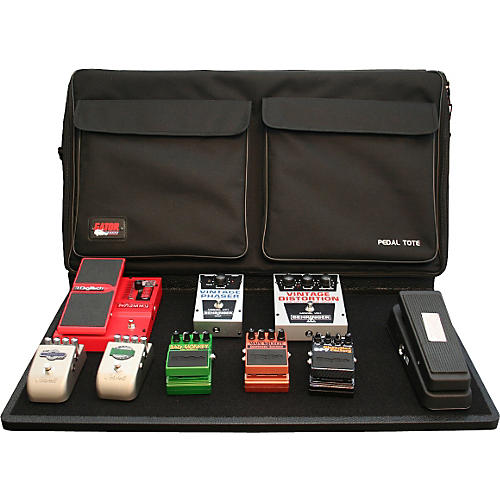 Gator GPT-PRO-PWR Powered Pedal Tote Pro Pedal Board with Bag