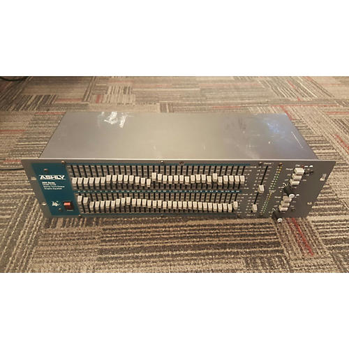 Ashly Audio GQX3102 Dual 31-Band Graphic Equalizer
