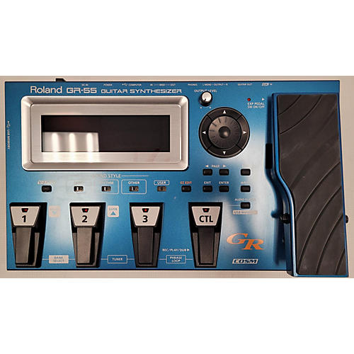 Roland GR 55 GUITAR SYNTHESIZER Effect Processor