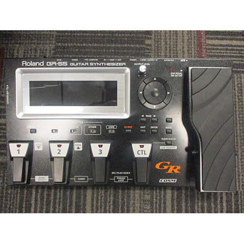 Roland GR-55 Guitar Synth With GK-3 Pickup Effect Processor