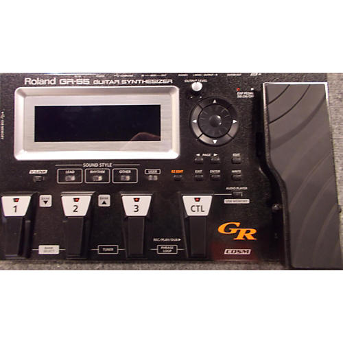 Roland GR55 GK Effect Processor