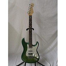 Warmoth GREEN ELECTRIC DOUBLE CUTAWAY Solid Body Electric Guitar