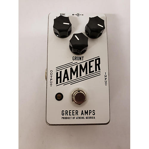 Greer Amplification GRUNT HAMMER Effect Pedal