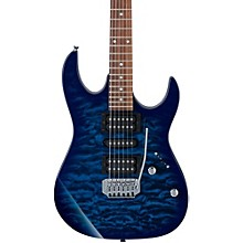 GRX70QA Electric Guitar Transparent Blue Burst