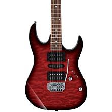 GRX70QA Electric Guitar Transparent Red Burst