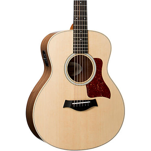 taylor gs mini series gs mini e walnut acoustic electric guitar natural guitar center. Black Bedroom Furniture Sets. Home Design Ideas