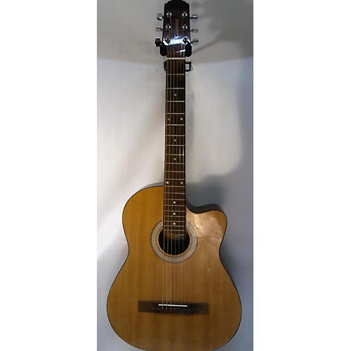 used giannini gsfx acoustic electric guitar natural guitar center. Black Bedroom Furniture Sets. Home Design Ideas