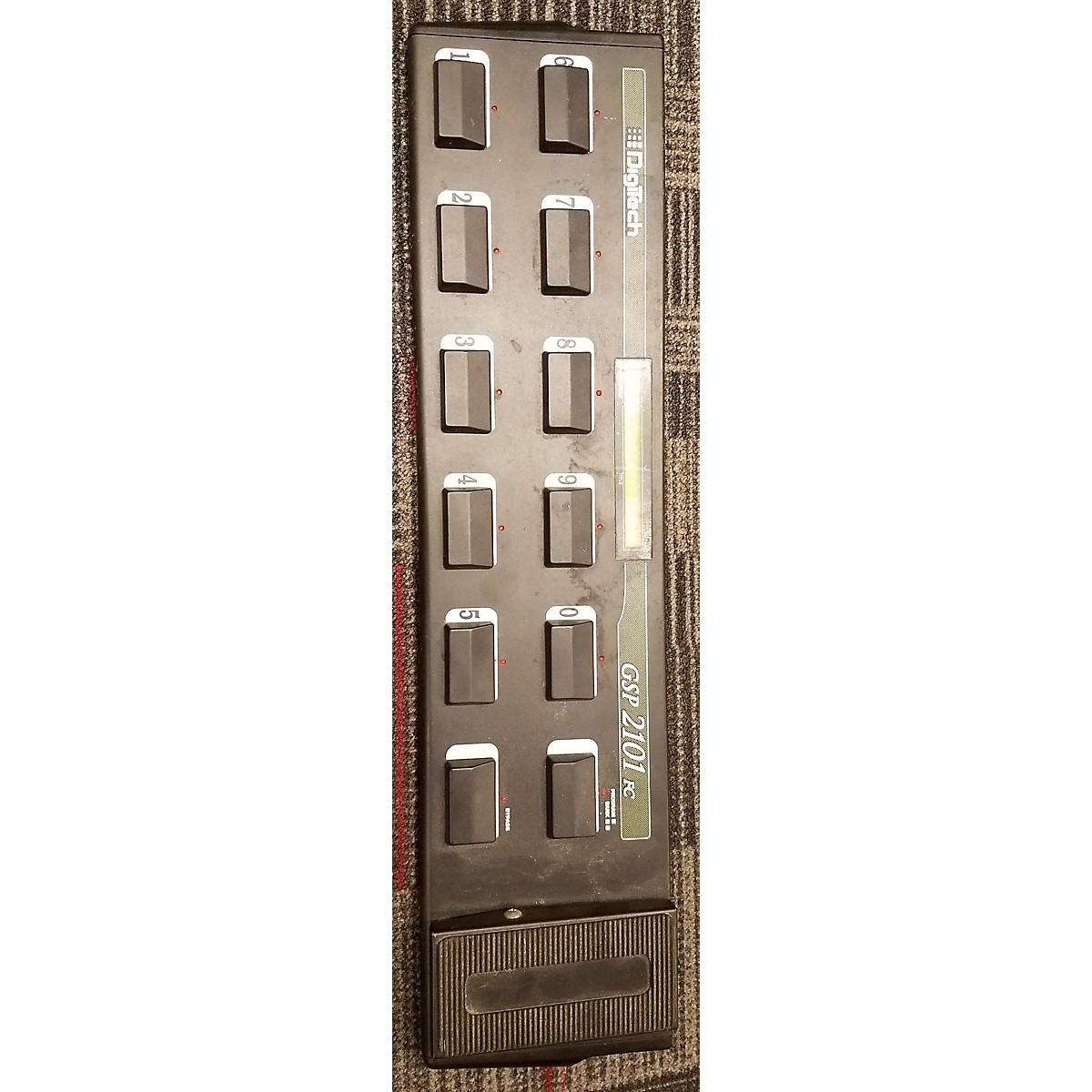 Used Digitech Gsp2101fc Midi Foot Controller Guitar Center