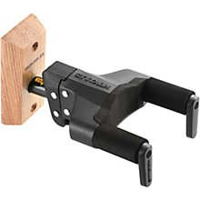Hercules Stands GSP38WB PLUS Auto Grip System (AGS) Guitar Wall Hanger Short Arm, Wooden Base