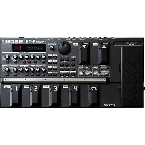Boss GT-8 Guitar Multi Effects Processor