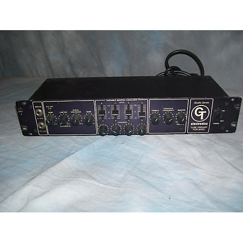 In Store Used GT Bass Tube Preamp Tube Bass Preamp
