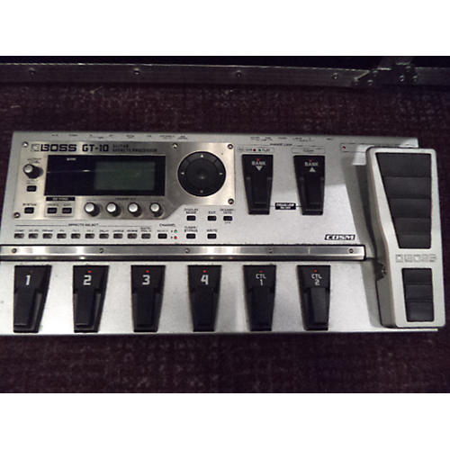 Boss GT10 Guitar Effect Processor