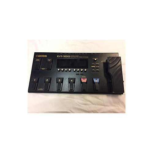 Boss GT100 Amp Effect Processor