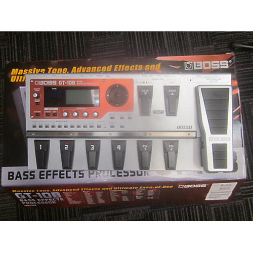 Boss GT10B Bass Bass Effect Pedal