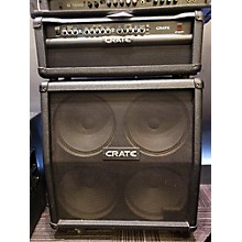 Crate GT1200H Head And G412SL Cab Guitar Stack