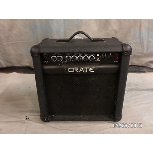 Crate GT15R Black Battery Powered Amp