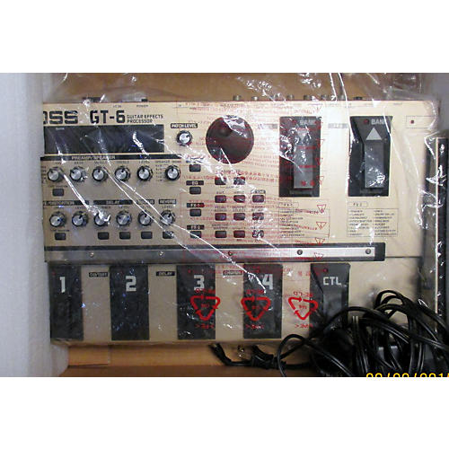 Boss GT6 Guitar Effect Processor