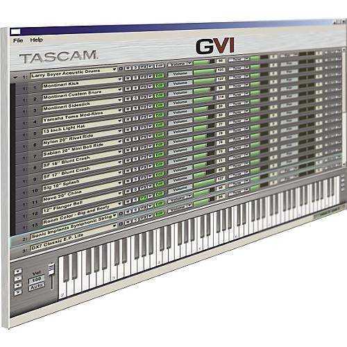 Tascam GVI Giga Virtual Instrument