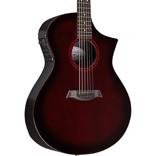 Composite Acoustics GX HG Wine Red Burst Narrow Neck