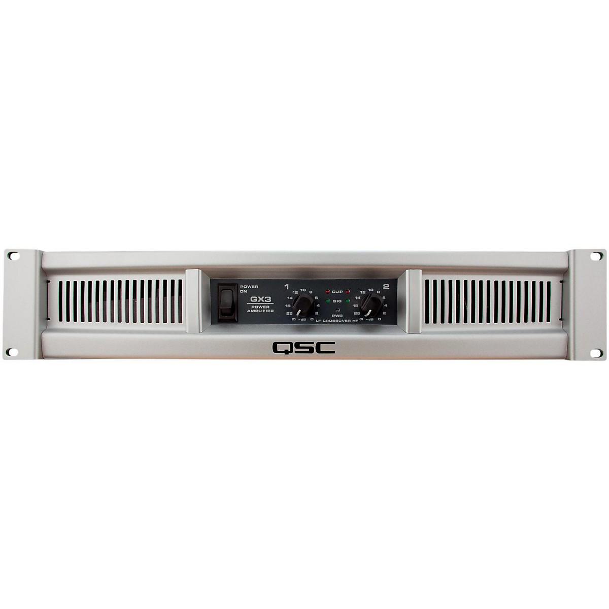 QSC GX3 Stereo Power Amplifier