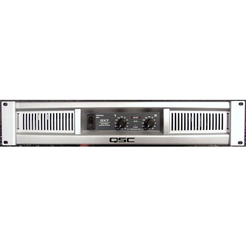 Qsc Gx7 Specs : used qsc gx7 power amp guitar center ~ Hamham.info Haus und Dekorationen