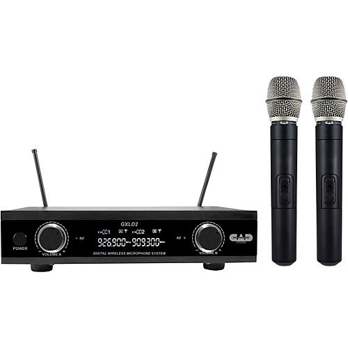 CAD GXLD2HH Handheld Microphone Wireless Systems