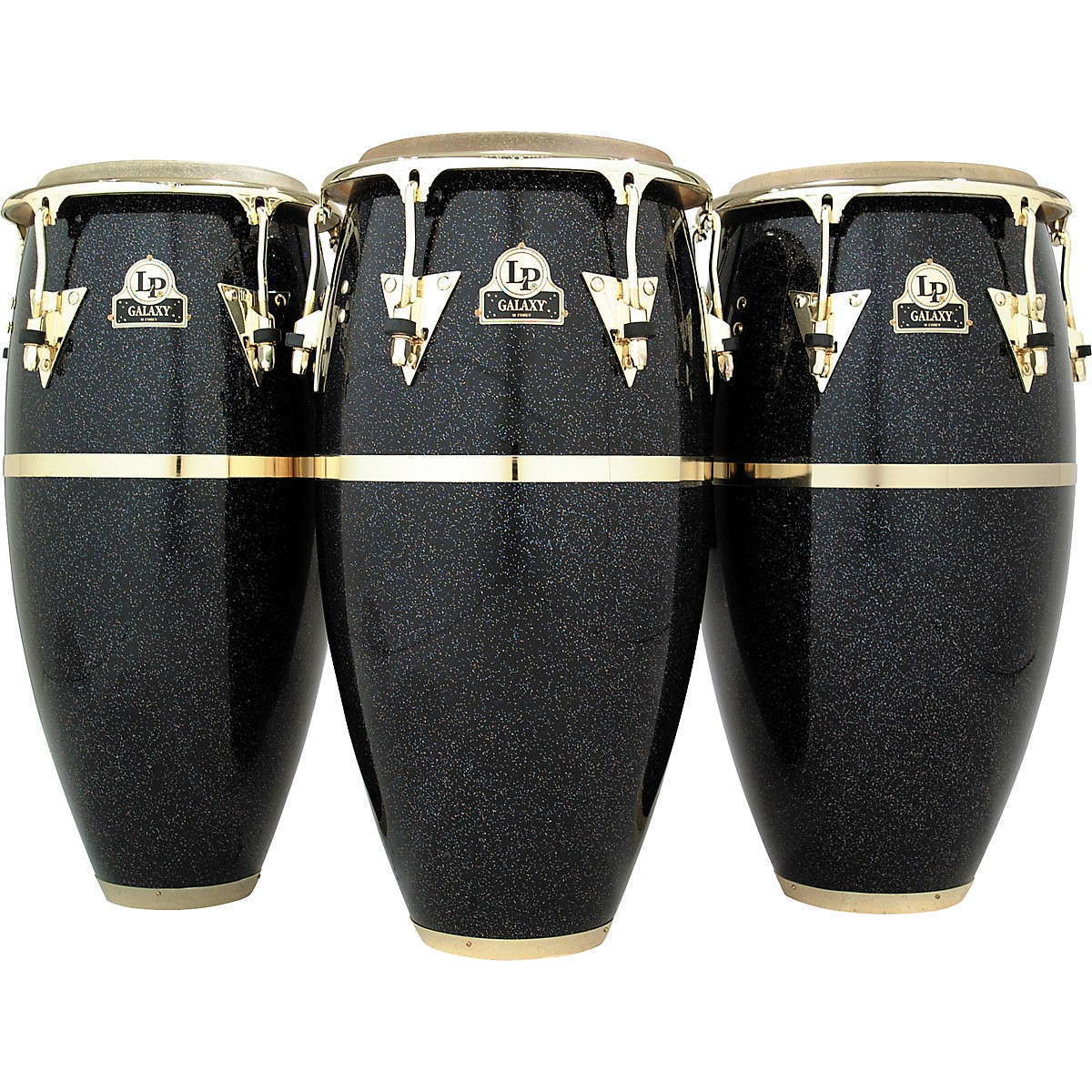 LP Galaxy Series Fiberglass Conga with Gold Hardware
